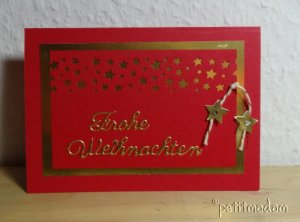 2014-12-1 sterne rot gold